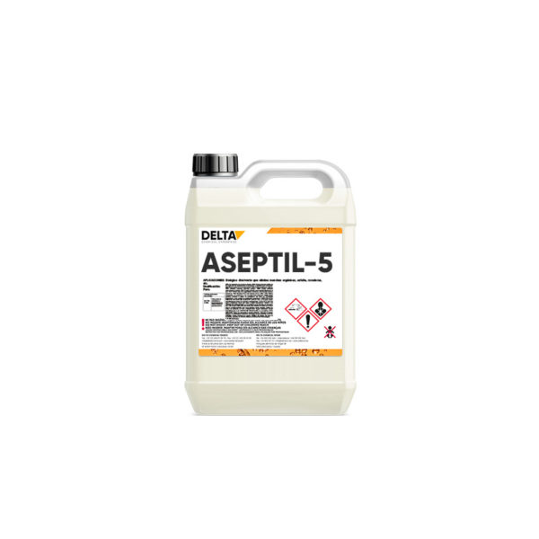 ASEPTIL-5 DÉSINFECTANTS À USAGE GÉNÉRAL 1 Opiniones Delta Chemical