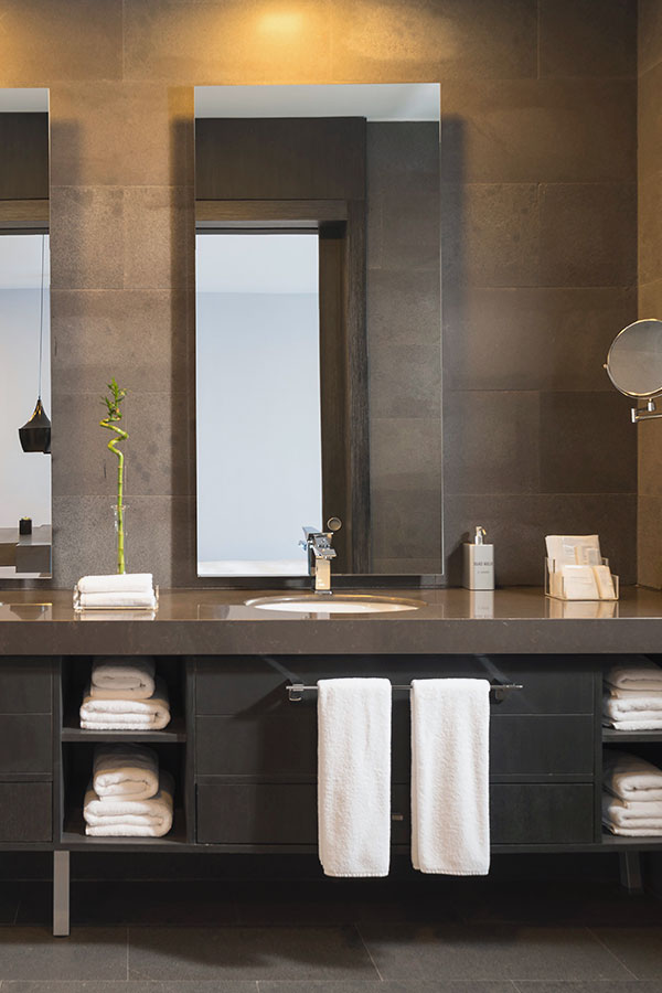 Serviettes de bain Hôtel
